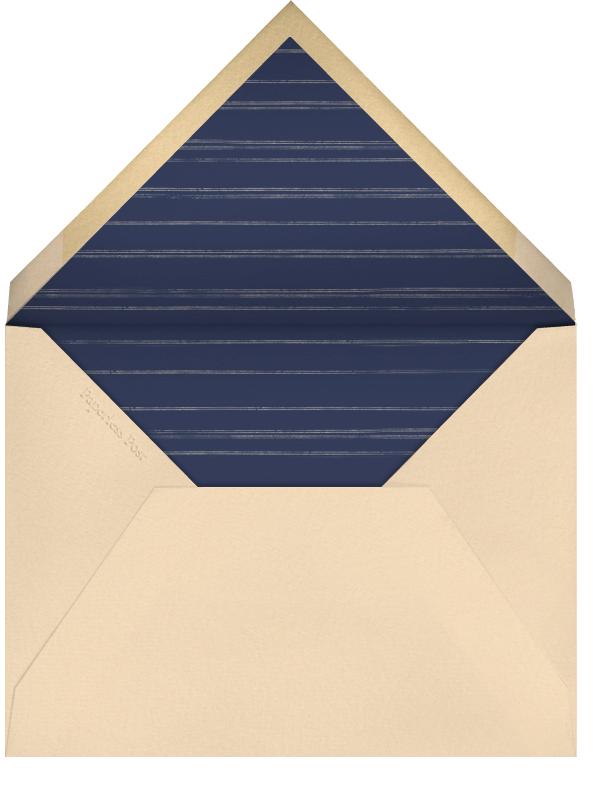 Acorns - Wheat - Paperless Post - Autumn entertaining - envelope back