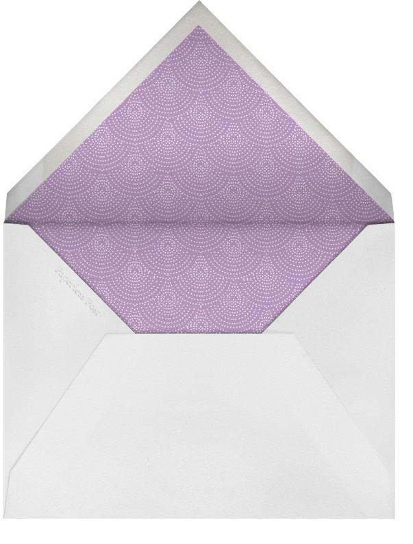 Hydrangea (Lilac) - Paperless Post - Envelope