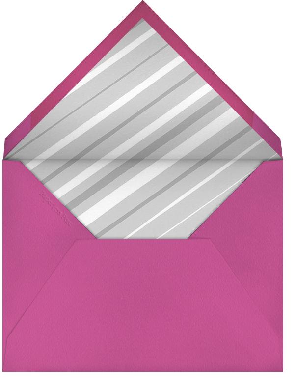 Flamingo Birthday - Paperless Post - Birthday - envelope back