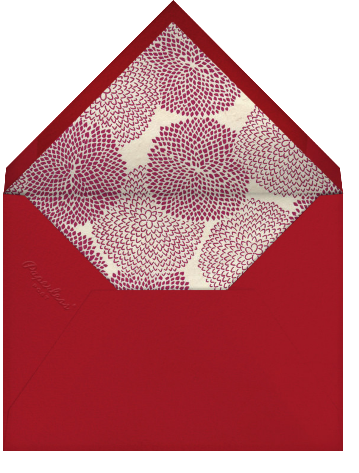 Majestic Elephant - Paperless Post - Birthday - envelope back