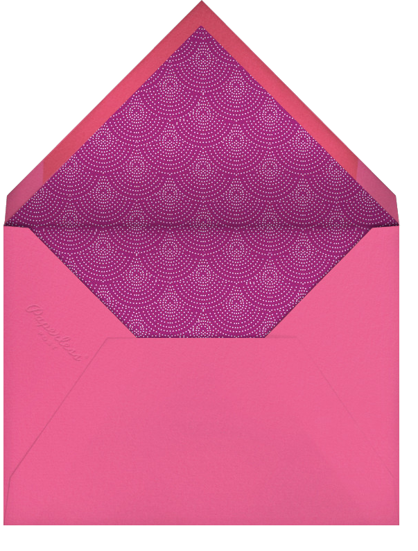 Lacquer - Paperless Post - Bachelorette party - envelope back