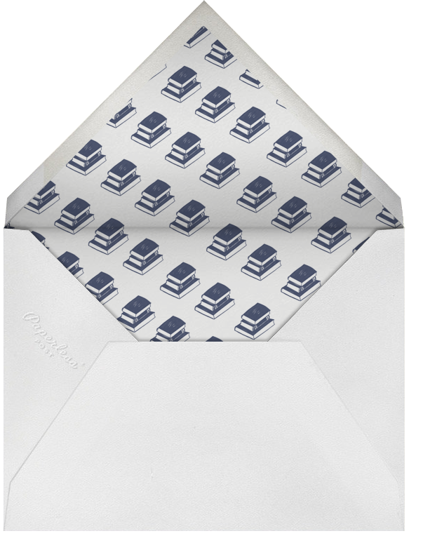 Contorno - Blue - Paperless Post - Graduation - envelope back