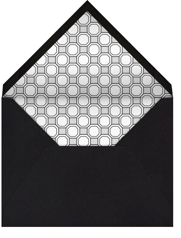 Claridge (Square) - Black - Paperless Post - Graduation - envelope back