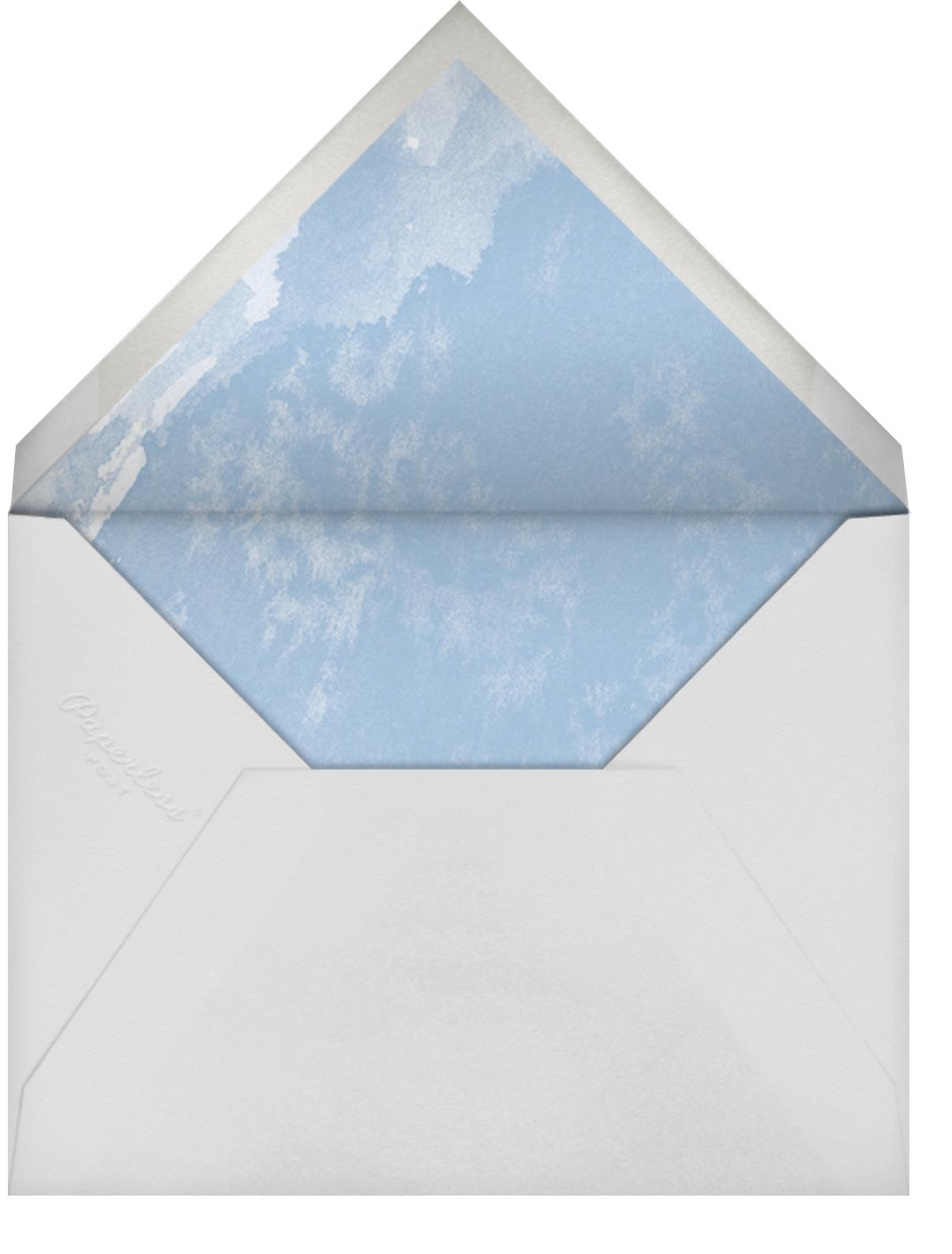 Painted Circle - Paperless Post - Graduation - envelope back