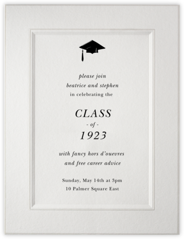 Ionic - Paperless Post - Graduation announcements