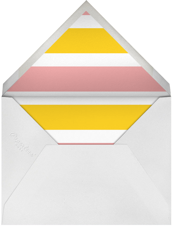 Racing Silk Chevron - Paperless Post - Sports - envelope back