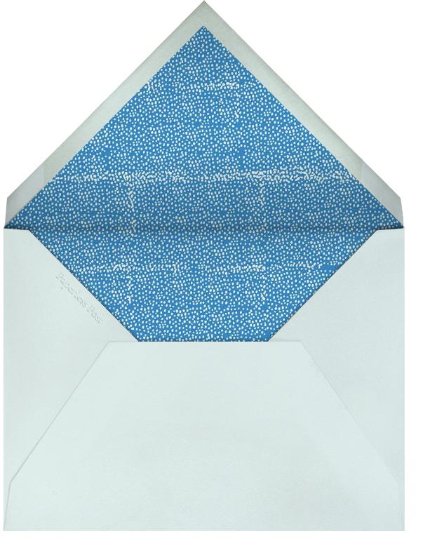 Mama Duck - Royal - Mr. Boddington's Studio - Baby shower - envelope back