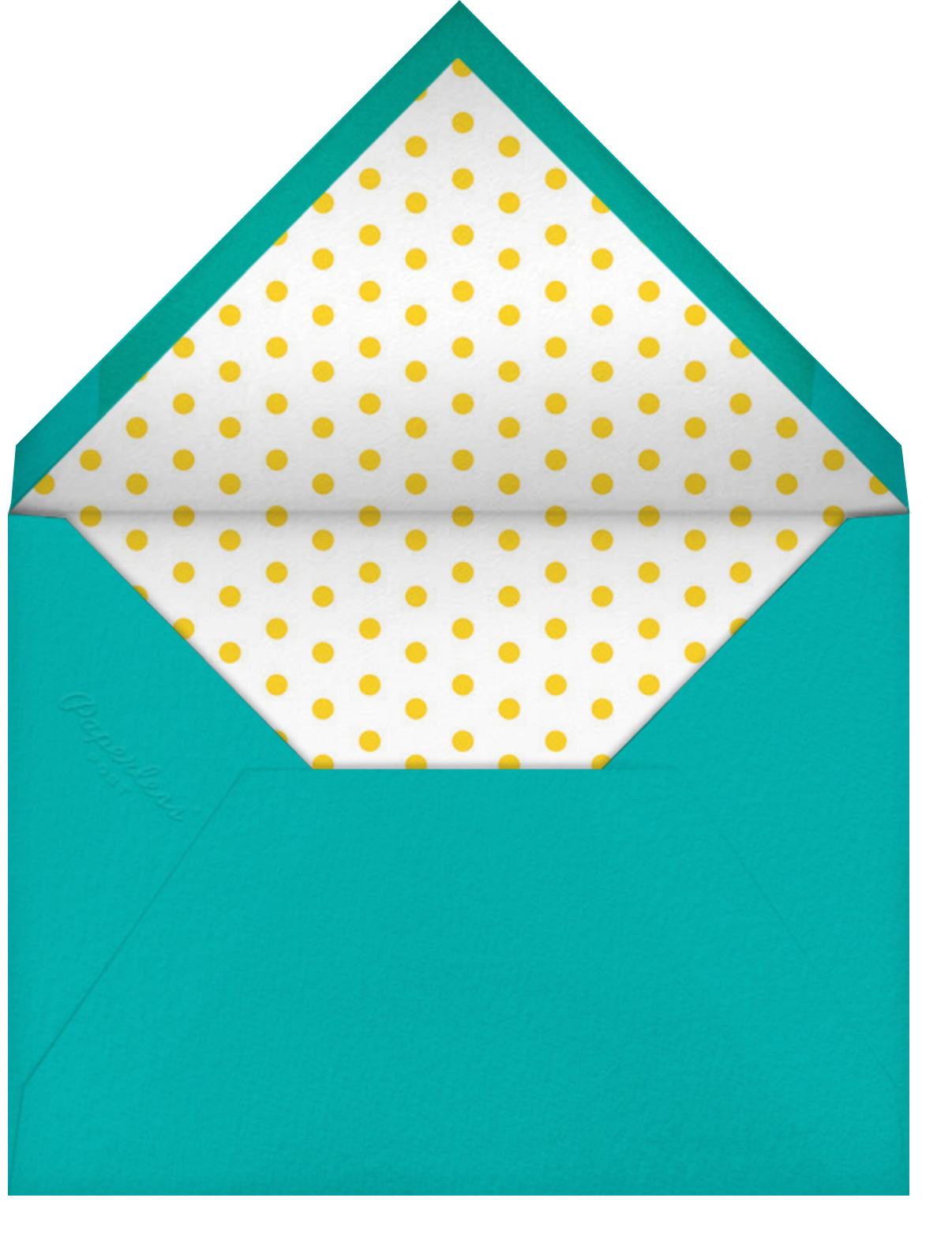 Eat Cake for Breakfast (Tall) - kate spade new york - Birthday - envelope back