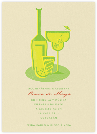 Margaritaville - Sand - Paperless Post - Cinco de Mayo Invitations