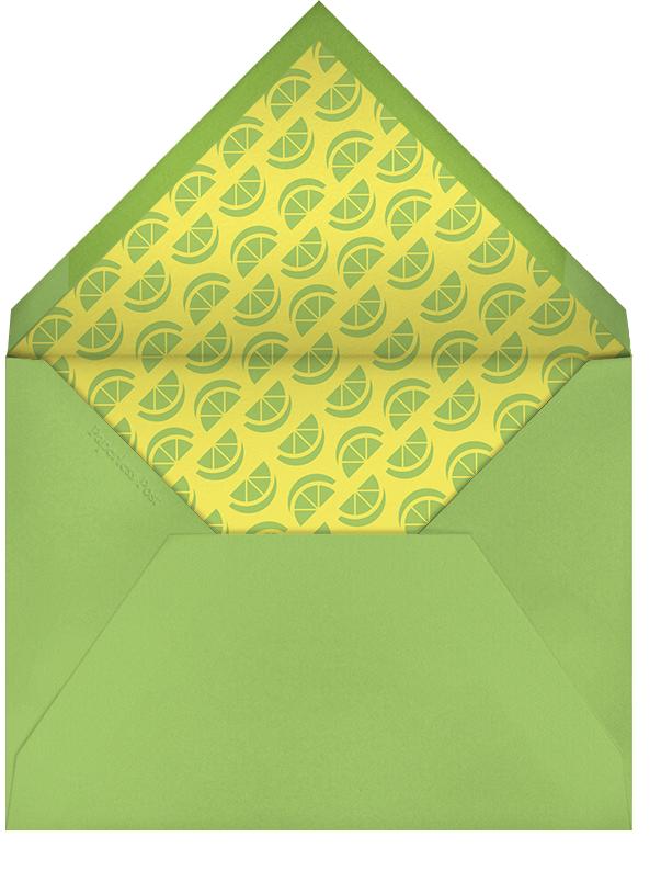 Margarita Equation - Sand - Paperless Post - Bachelorette party - envelope back