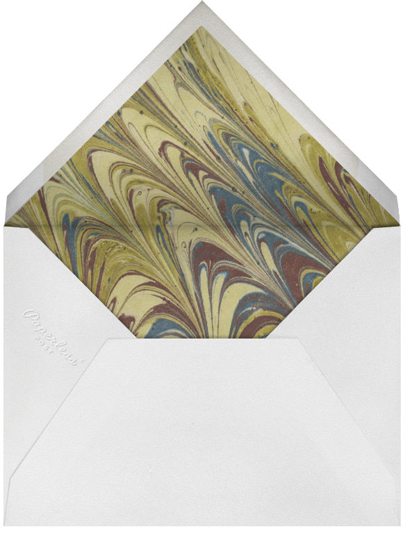 Portia - Photo Card - Paperless Post - Anniversary party - envelope back