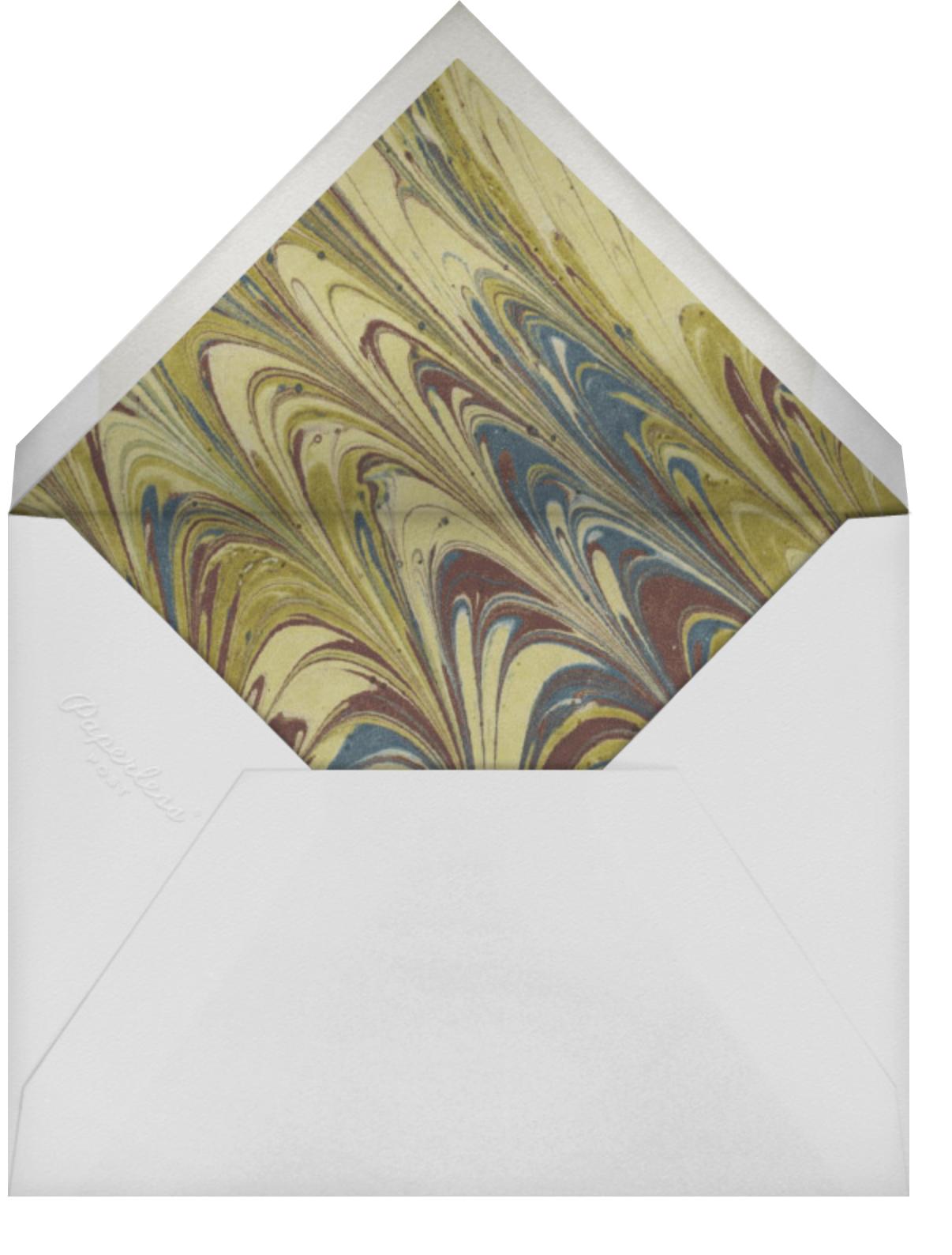 Portia - Photo Card - Paperless Post - Envelope