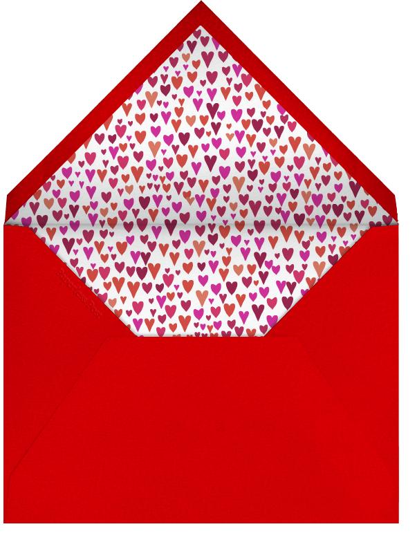 Peacock - Mr. Boddington's Studio - Valentine's Day - envelope back