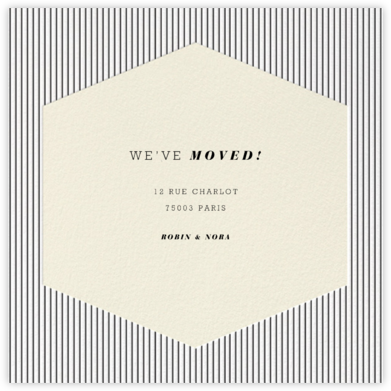 Plaza Square - Cream - Paperless Post - Moving Announcements