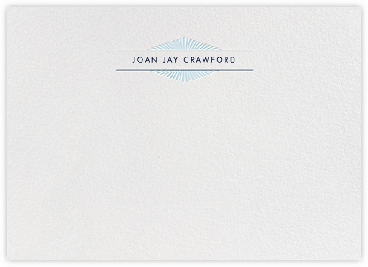 Lamarr - Harbor and Dark Blue - Paperless Post - Stationery