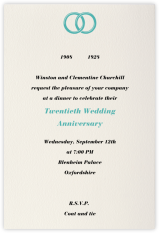 Cream (Tall) - Paperless Post - Celebration invitations