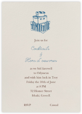 Cream - Tall - Paperless Post - Farewell party invitations