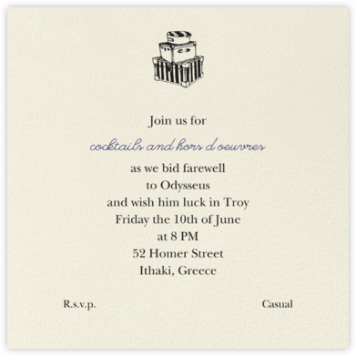 Cream (Square) - Paperless Post - Celebration invitations