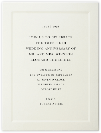 Matterhorn (Large Tall) - Paperless Post - Celebration invitations