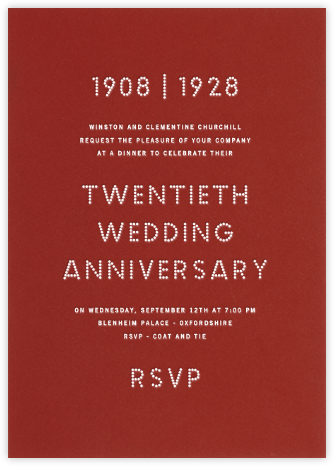 Crimson - Paperless Post - Celebration invitations