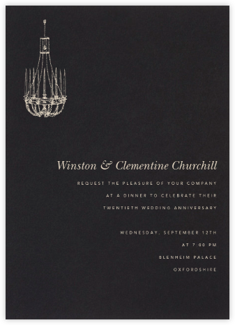 Black (tall) - Paperless Post - Celebration invitations