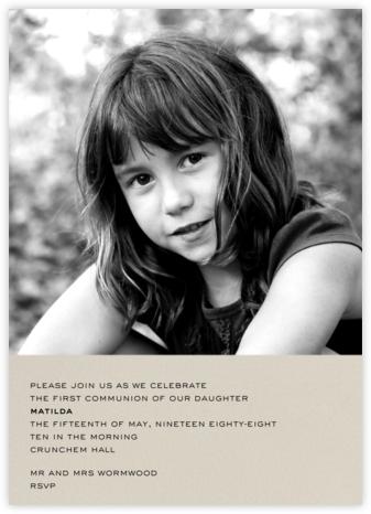 Split Screen - Santa Fe - Paperless Post - First communion invitations