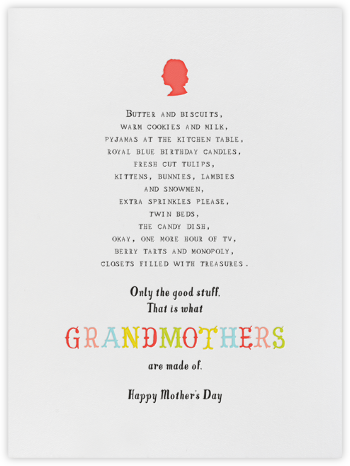 Grandmommy's House - Mr. Boddington's Studio - Mother's day cards