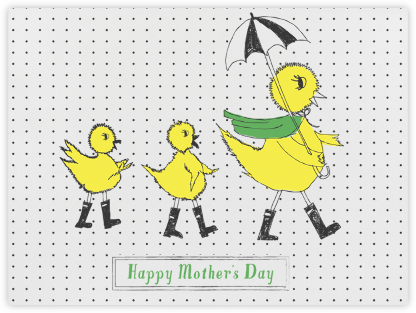 Mama Duckie and Her Twins - Mr. Boddington's Studio - Mother's day cards