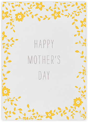 Vintage Flower - Happy Mother's Day | tall