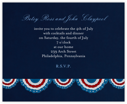 4th of july invitations online at paperless post