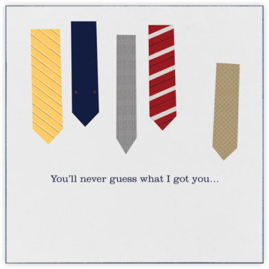 Ties - Paperless Post - Father's Day cards