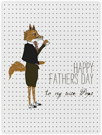 Hello Mr. Fox - Mr. Boddington's Studio - Father's Day Cards
