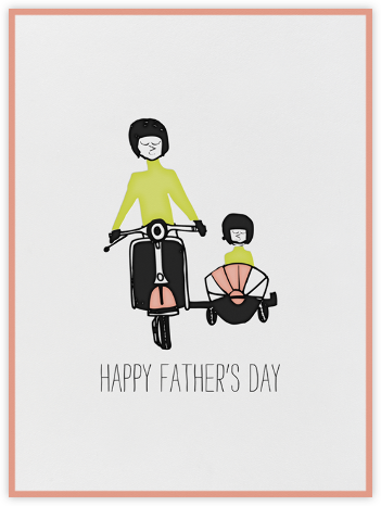 I'll Catch a Ride with Father - Mr. Boddington's Studio - Father's Day Cards