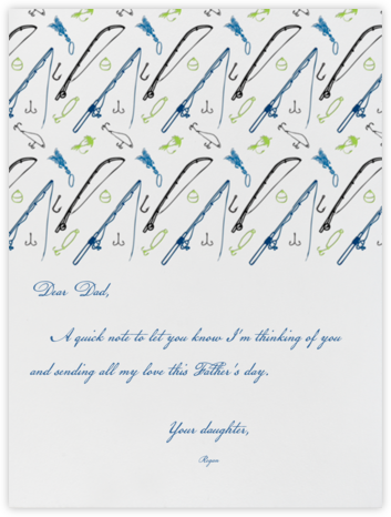 Hook and Line - Paperless Post - Father's Day Cards