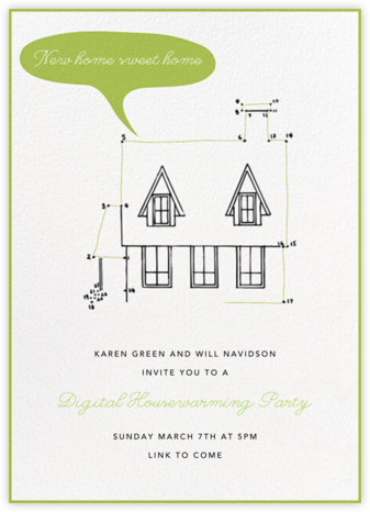 Connect The Dots - Paperless Post - Online Party Invitations
