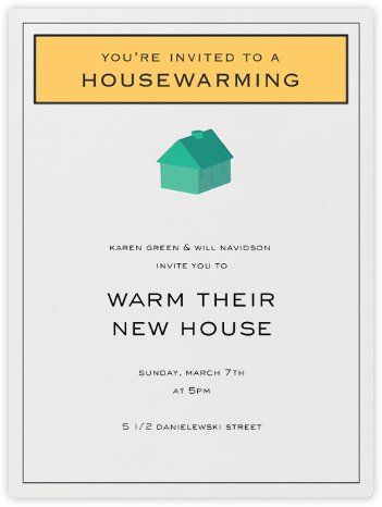 House-opoly - Paperless Post - Housewarming party invitations