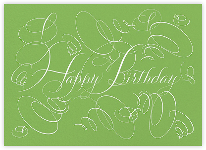 Happy Birthday - Charterhouse - Bernard Maisner - Bernard Maisner Invitations
