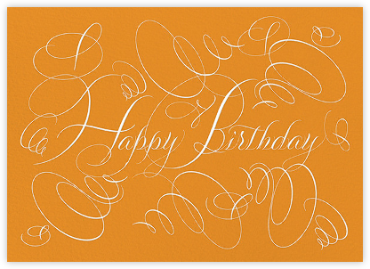 Happy Birthday - Kumquat - Bernard Maisner - Birthday Cards