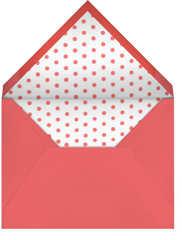 Baby Gear - Pink - Paperless Post - Baby shower - envelope back