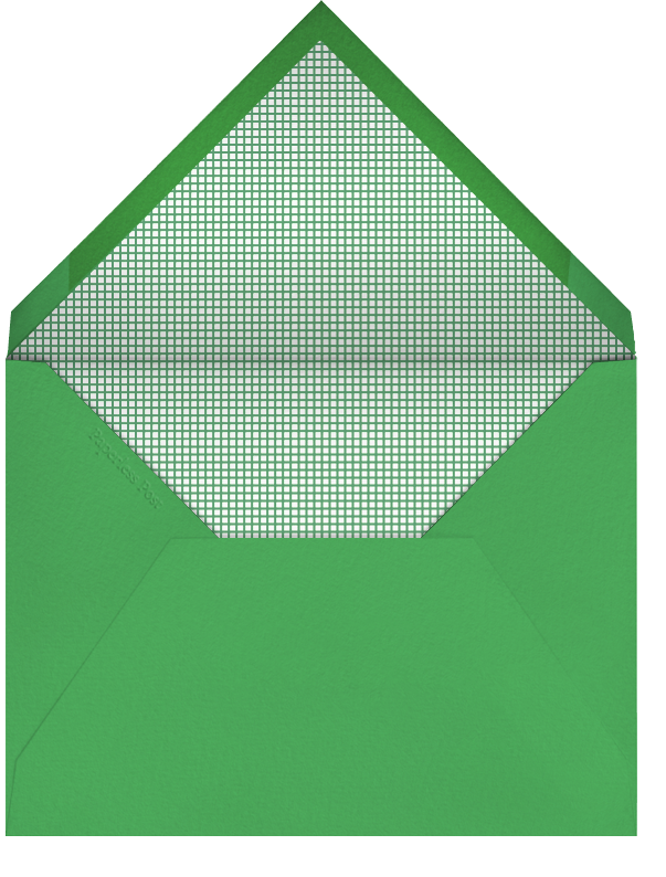Baby Gear - Green - Paperless Post - Baby shower - envelope back